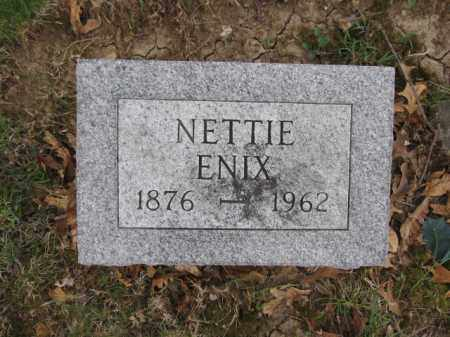 ENIX, NETTIE - Union County, Ohio | NETTIE ENIX - Ohio Gravestone Photos