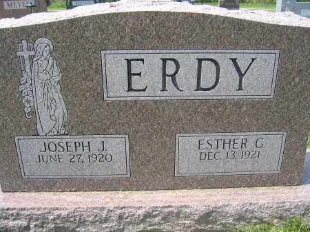 ERDY, ESTHER G. - Union County, Ohio | ESTHER G. ERDY - Ohio Gravestone Photos