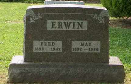 ERWIN, FRED - Union County, Ohio | FRED ERWIN - Ohio Gravestone Photos