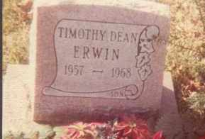 ERWIN, TIMOTHY DEAN - Union County, Ohio | TIMOTHY DEAN ERWIN - Ohio Gravestone Photos