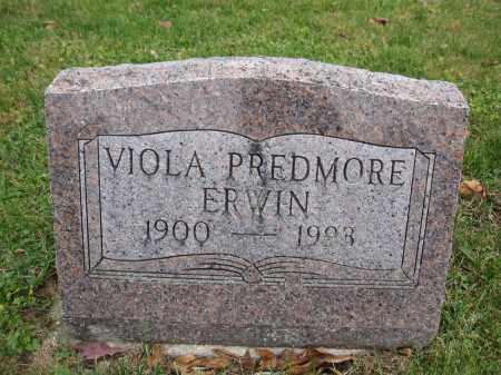 ERWIN, VIOLA PREDMORE - Union County, Ohio | VIOLA PREDMORE ERWIN - Ohio Gravestone Photos