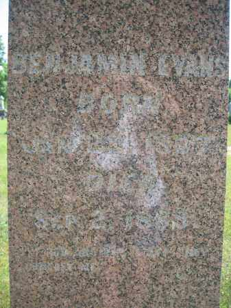 EVANS, BENJAMIN - Union County, Ohio | BENJAMIN EVANS - Ohio Gravestone Photos