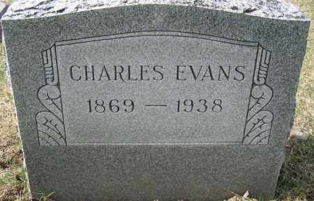 EVANS, CHARLES - Union County, Ohio | CHARLES EVANS - Ohio Gravestone Photos