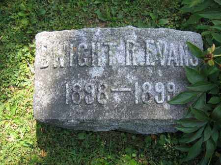 EVANS, DWIGHT R. - Union County, Ohio | DWIGHT R. EVANS - Ohio Gravestone Photos