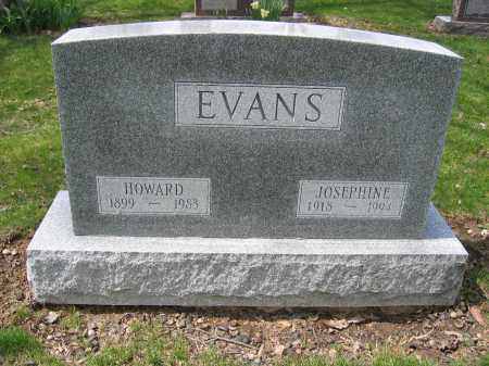 EVANS, HOWARD - Union County, Ohio | HOWARD EVANS - Ohio Gravestone Photos