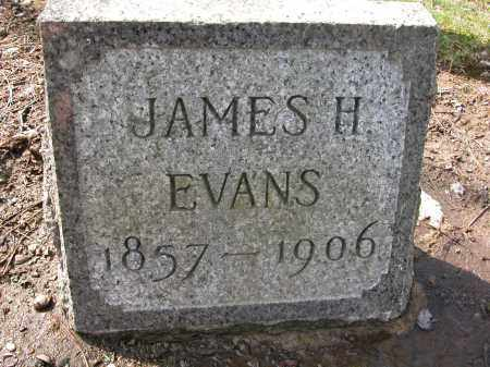 EVANS, JAMES H - Union County, Ohio | JAMES H EVANS - Ohio Gravestone Photos