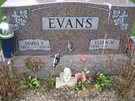 EVANS, JAMES F - Union County, Ohio | JAMES F EVANS - Ohio Gravestone Photos