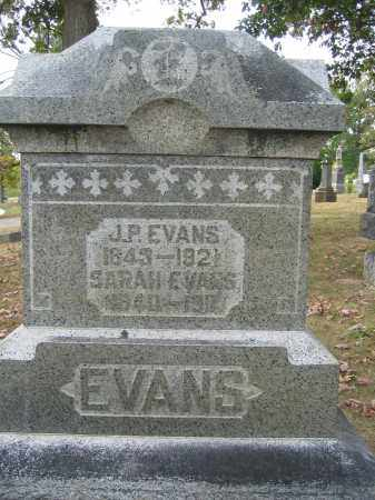 EVANS, J.P - Union County, Ohio | J.P EVANS - Ohio Gravestone Photos