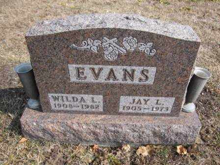 EVANS, WILDA L. - Union County, Ohio | WILDA L. EVANS - Ohio Gravestone Photos