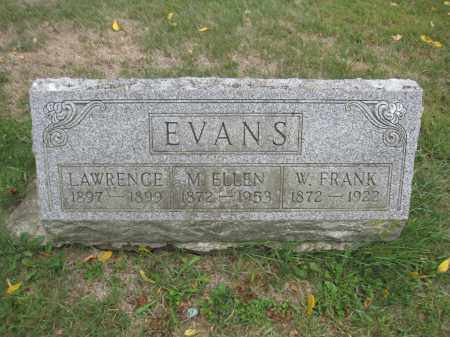 EVANS, LAWRENCE - Union County, Ohio | LAWRENCE EVANS - Ohio Gravestone Photos