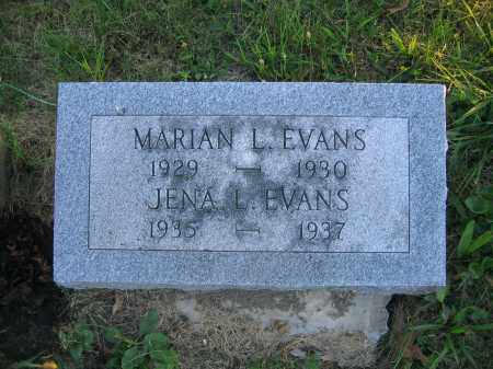 EVANS, MARIAN L. - Union County, Ohio | MARIAN L. EVANS - Ohio Gravestone Photos
