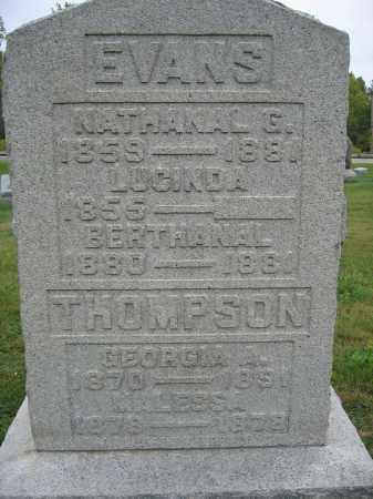 THOMPSON, MALESSA - Union County, Ohio | MALESSA THOMPSON - Ohio Gravestone Photos