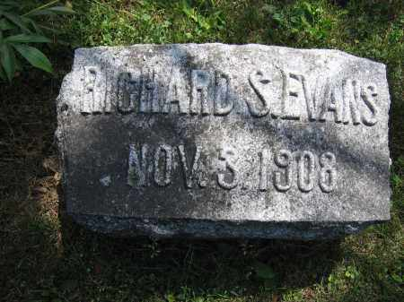 EVANS, RICHARD S. - Union County, Ohio | RICHARD S. EVANS - Ohio Gravestone Photos