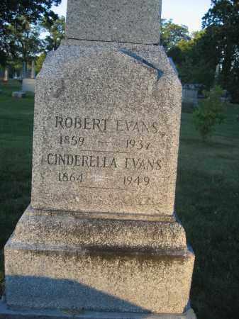 EVANS, CINDERELLA - Union County, Ohio | CINDERELLA EVANS - Ohio Gravestone Photos