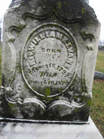 EVANS, WILLIAM B. - Union County, Ohio | WILLIAM B. EVANS - Ohio Gravestone Photos