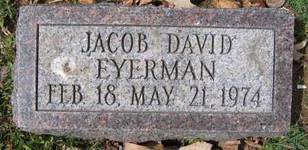EYERMAN, JACOB DAVID - Union County, Ohio | JACOB DAVID EYERMAN - Ohio Gravestone Photos