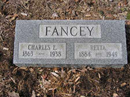 FANCEY, CHARLES E. - Union County, Ohio | CHARLES E. FANCEY - Ohio Gravestone Photos