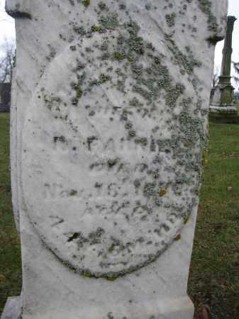 FARRIER, ELIZABETH E. - Union County, Ohio | ELIZABETH E. FARRIER - Ohio Gravestone Photos