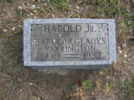 FARRINGTON, HAROLD - Union County, Ohio | HAROLD FARRINGTON - Ohio Gravestone Photos