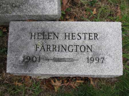 FARRINGTON, HELEN HESTER - Union County, Ohio | HELEN HESTER FARRINGTON - Ohio Gravestone Photos