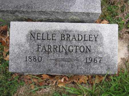FARRINGTON, NELLE BRADLEY - Union County, Ohio | NELLE BRADLEY FARRINGTON - Ohio Gravestone Photos