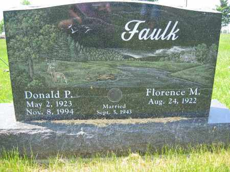 FAULK, FLORENCE M. - Union County, Ohio | FLORENCE M. FAULK - Ohio Gravestone Photos