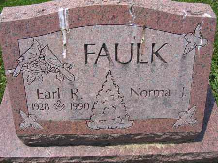 FAULK, EARL R. - Union County, Ohio | EARL R. FAULK - Ohio Gravestone Photos