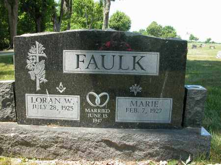 FAULK, LORAN W. - Union County, Ohio | LORAN W. FAULK - Ohio Gravestone Photos