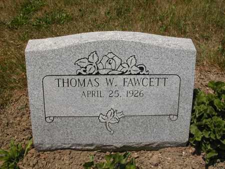FAWCETT, THOMAS W. - Union County, Ohio | THOMAS W. FAWCETT - Ohio Gravestone Photos