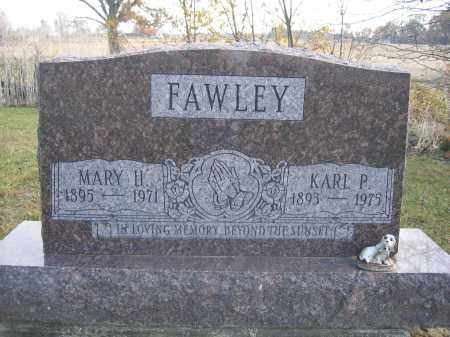FAWLEY, MARY H. - Union County, Ohio | MARY H. FAWLEY - Ohio Gravestone Photos