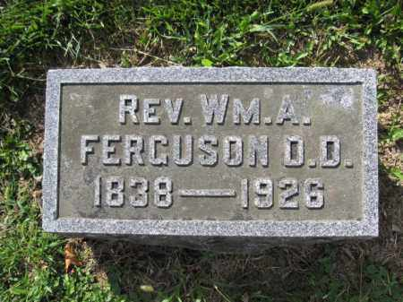 FERGUSON, WILLIAM A. - Union County, Ohio | WILLIAM A. FERGUSON - Ohio Gravestone Photos