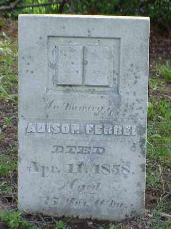 FERREE, ADISON - Union County, Ohio | ADISON FERREE - Ohio Gravestone Photos
