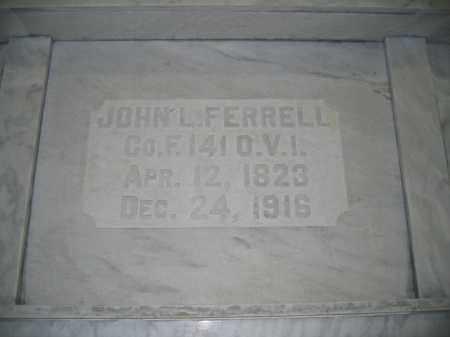FERRELL, JOHN L. - Union County, Ohio | JOHN L. FERRELL - Ohio Gravestone Photos