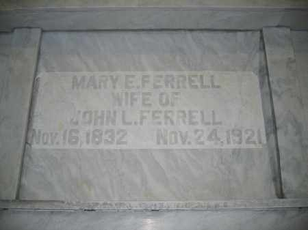 FERRELL, MARY E. - Union County, Ohio | MARY E. FERRELL - Ohio Gravestone Photos
