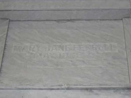 FERRELL, MARY JANE - Union County, Ohio | MARY JANE FERRELL - Ohio Gravestone Photos