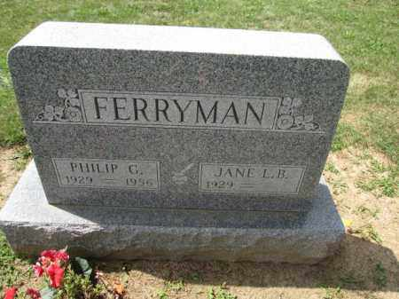 FERRYMAN, PHILIP G. - Union County, Ohio | PHILIP G. FERRYMAN - Ohio Gravestone Photos