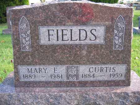 FIELDS, CURTIS - Union County, Ohio | CURTIS FIELDS - Ohio Gravestone Photos