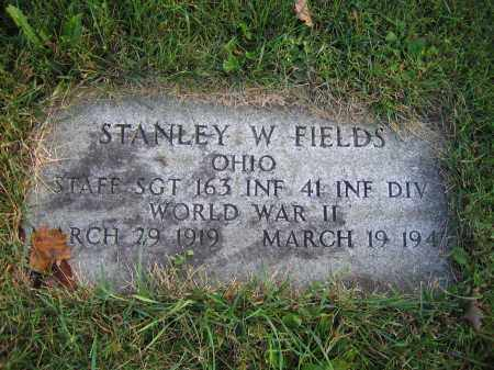 FIELDS, STANLEY W. - Union County, Ohio | STANLEY W. FIELDS - Ohio Gravestone Photos