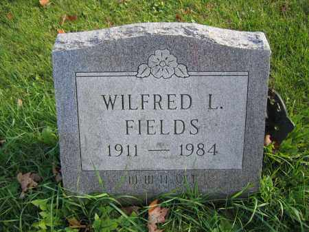 FIELDS, WILFRED L. - Union County, Ohio | WILFRED L. FIELDS - Ohio Gravestone Photos