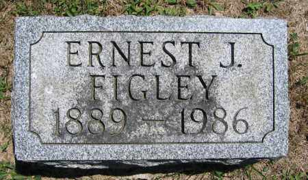 FIGLEY, ERNEST J. - Union County, Ohio | ERNEST J. FIGLEY - Ohio Gravestone Photos