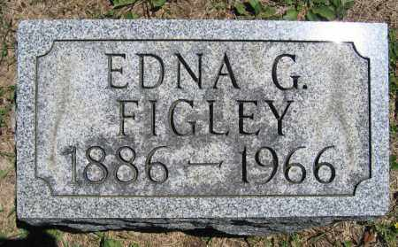 FIGLEY, EDNA G. - Union County, Ohio | EDNA G. FIGLEY - Ohio Gravestone Photos