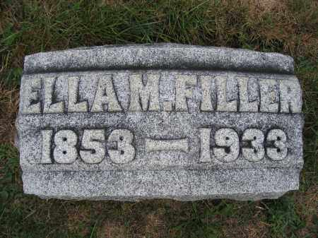 FILLER, ELLA M. - Union County, Ohio | ELLA M. FILLER - Ohio Gravestone Photos