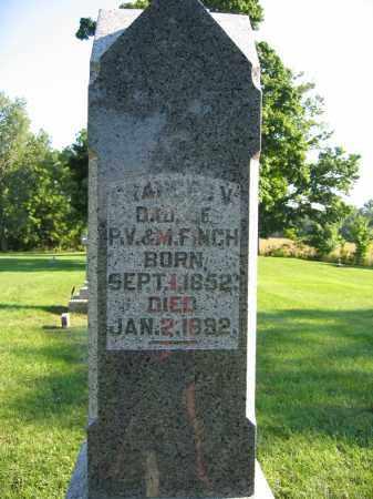 FINCH, FRANCES V. - Union County, Ohio   FRANCES V. FINCH - Ohio Gravestone Photos