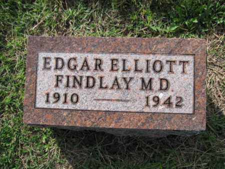 FINDLAY, EDGAR ELLIOTT - Union County, Ohio | EDGAR ELLIOTT FINDLAY - Ohio Gravestone Photos