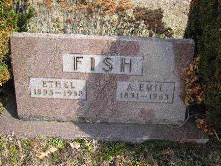 FISH, A. EMIL - Union County, Ohio | A. EMIL FISH - Ohio Gravestone Photos