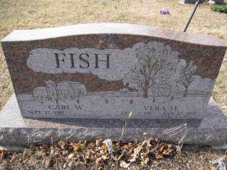 FISH, VERA M. - Union County, Ohio | VERA M. FISH - Ohio Gravestone Photos