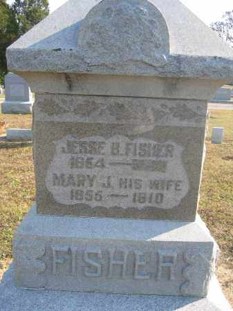 FISHER, JESSE B. - Union County, Ohio | JESSE B. FISHER - Ohio Gravestone Photos