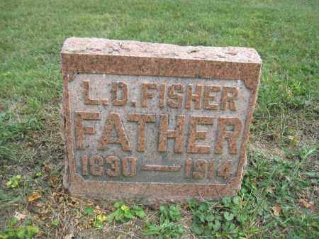 FISHER, L.D. - Union County, Ohio | L.D. FISHER - Ohio Gravestone Photos