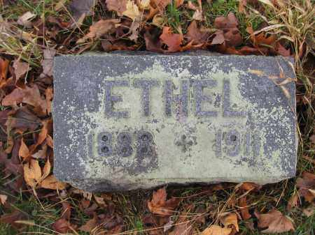 FISHER, MARY ETHEL - Union County, Ohio | MARY ETHEL FISHER - Ohio Gravestone Photos