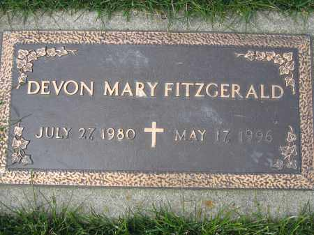 FITZGERALD, DEVON MARY - Union County, Ohio | DEVON MARY FITZGERALD - Ohio Gravestone Photos